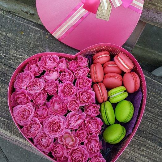 Коробочка сладость: букеты цветов на заказ Flowwow