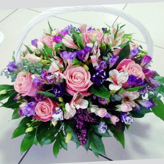 Корзина  Лавандовые сны: букеты цветов на заказ Flowwow