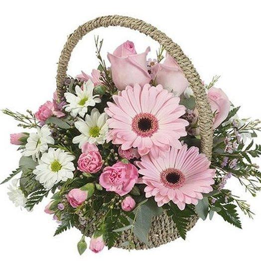 Корзина Твоя весна: букеты цветов на заказ Flowwow