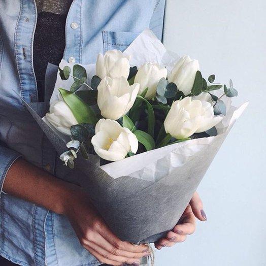 Букет тюльпанов мини: букеты цветов на заказ Flowwow