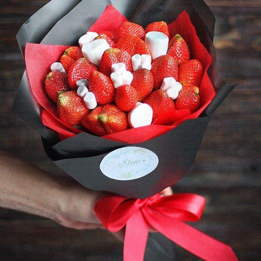 Фруктовый букет Стрелы Амура: букеты цветов на заказ Flowwow