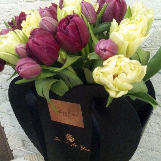 Тюльпаны для моей любимой: букеты цветов на заказ Flowwow