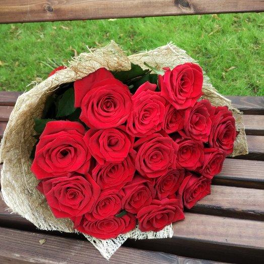 Рубиновое сияние: букеты цветов на заказ Flowwow