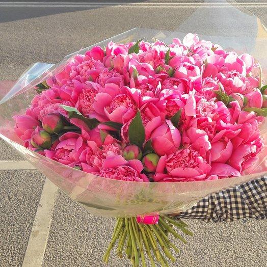 Аромат пиона: букеты цветов на заказ Flowwow