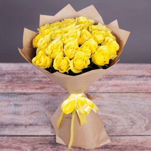 Песнь канарейки: букеты цветов на заказ Flowwow
