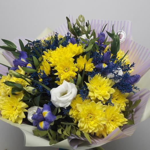 Солнечное звучание: букеты цветов на заказ Flowwow