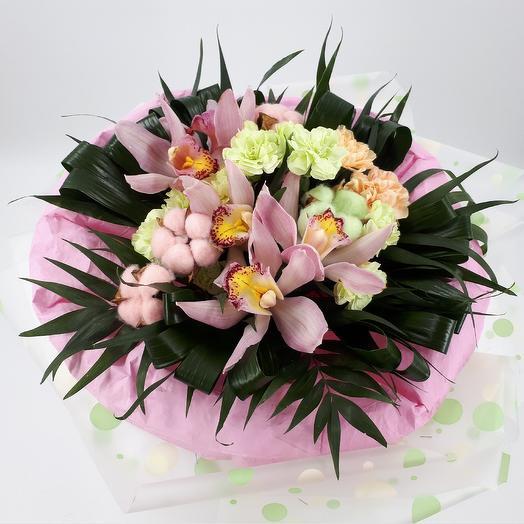 Тропический зефир: букеты цветов на заказ Flowwow
