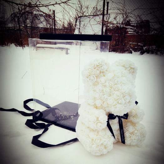 Снежная принцесса: букеты цветов на заказ Flowwow