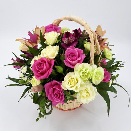 Basket Butterfly: flowers to order Flowwow