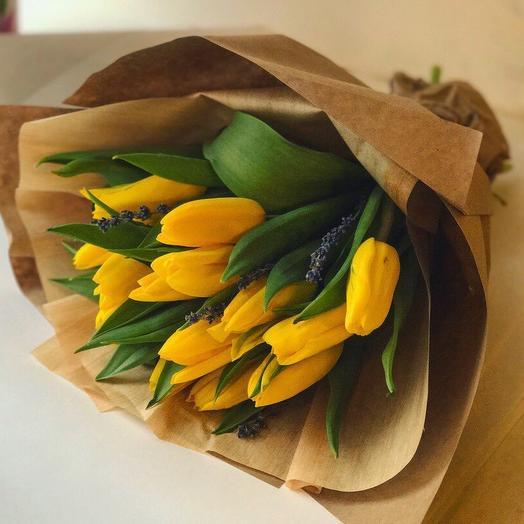 Тюльпан-лаванда: букеты цветов на заказ Flowwow