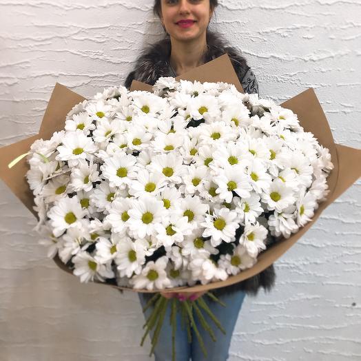 Ромашковый рай: букеты цветов на заказ Flowwow