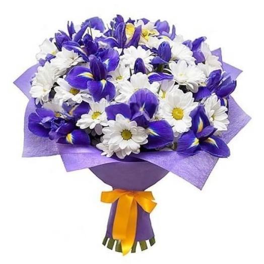 Букет  007: букеты цветов на заказ Flowwow