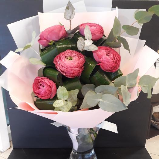 Букет с Лютиками: букеты цветов на заказ Flowwow