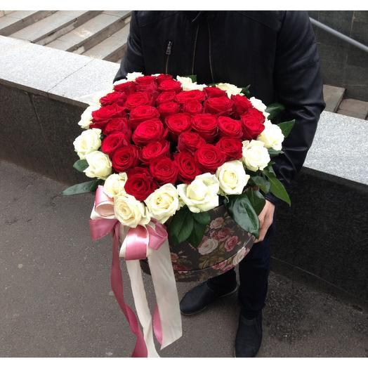 Сердце премиум: букеты цветов на заказ Flowwow