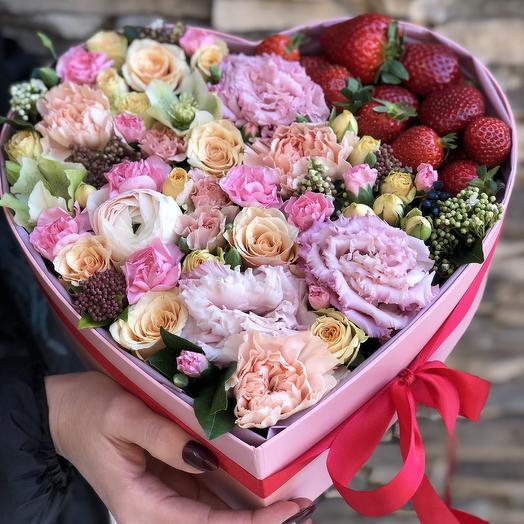 Heart 14: букеты цветов на заказ Flowwow