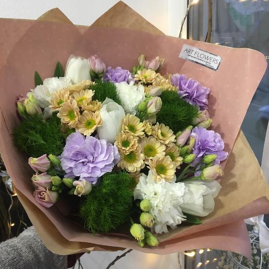 Лунная: букеты цветов на заказ Flowwow