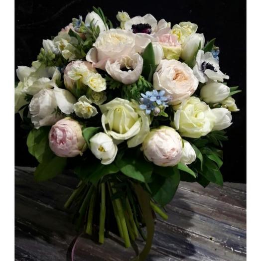 Ароматный, нежный букет: букеты цветов на заказ Flowwow