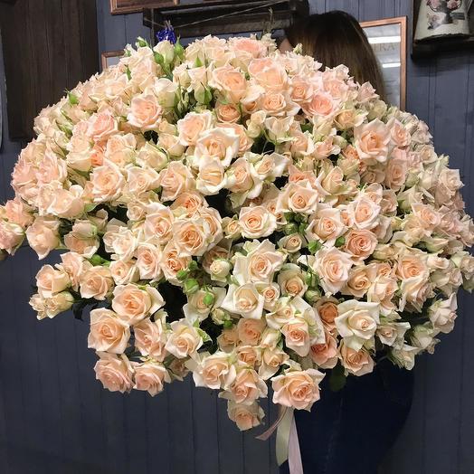 Персиковое облачко: букеты цветов на заказ Flowwow