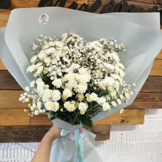 Небесные ромашки: букеты цветов на заказ Flowwow