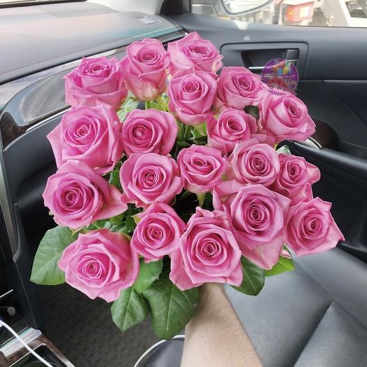 "Букет роз ""Пинк"": букеты цветов на заказ Flowwow"