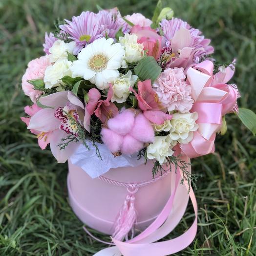 Цилиндр «Мамуле»: букеты цветов на заказ Flowwow