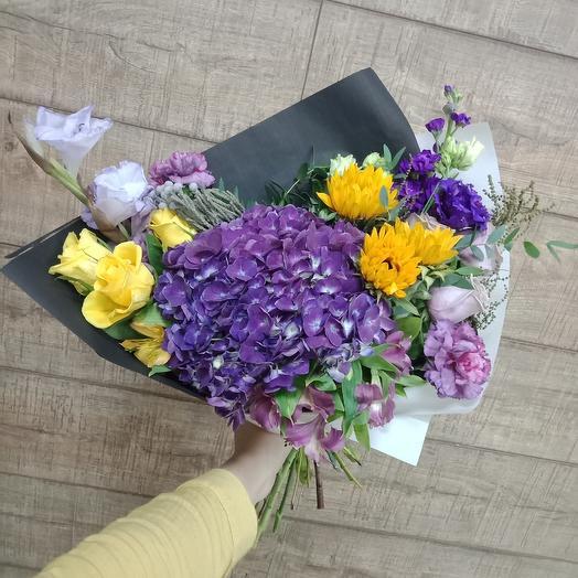 Солнечный букет: букеты цветов на заказ Flowwow