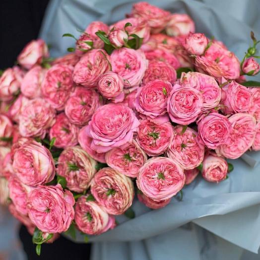 """Большой букет из роз """"Счастливая улыбка"""""""