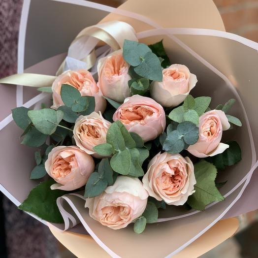 Английская прима: букеты цветов на заказ Flowwow