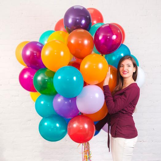 25 воздушных шаров