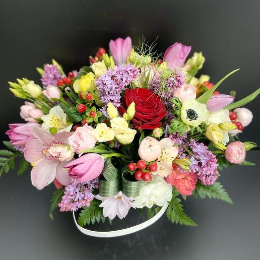 Аромат любви: букеты цветов на заказ Flowwow