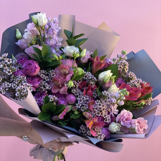 Нежный микс: букеты цветов на заказ Flowwow