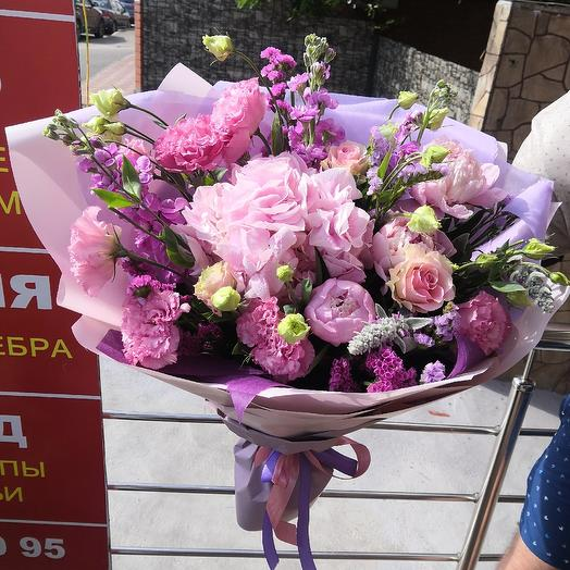 "Bouquet ""Pink clouds"""