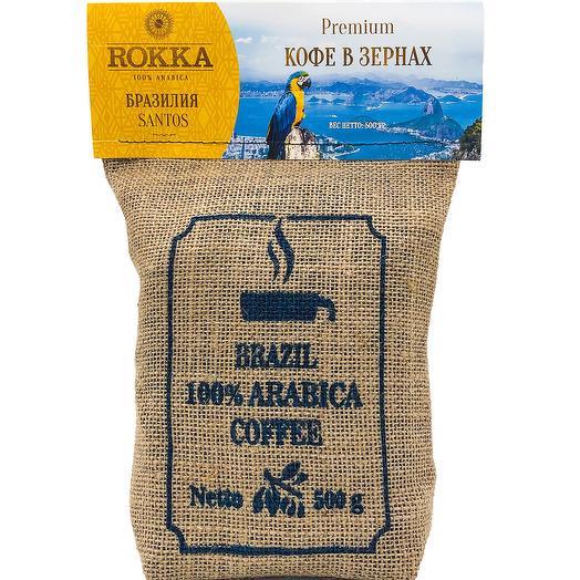 """Кофе в зернах """"Rokka"""""""