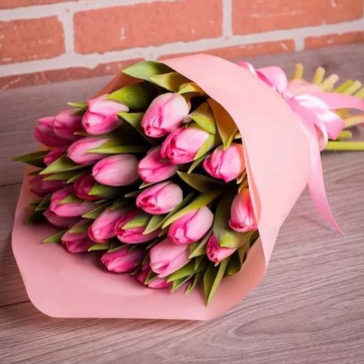 Букет Тюльпанов « Офелия»