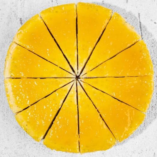 Фитнес Чизкейк с ананасом и семенами чиа
