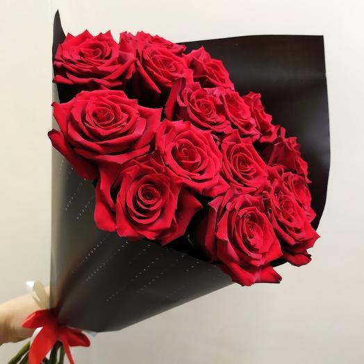 Шикарная Эквадорская Роза (15 шт )
