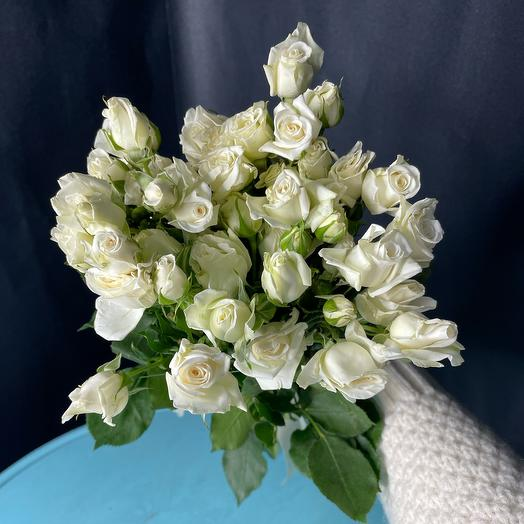 Монобукет из 9 кустовых роз