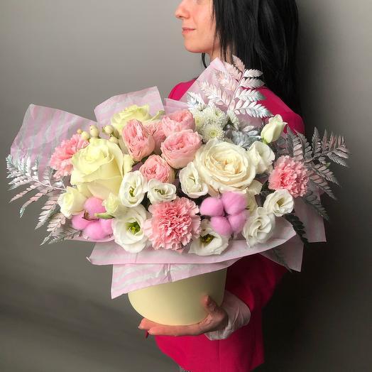Бархатное розовое