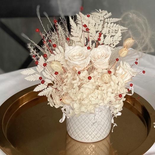 Белые Розы в белом