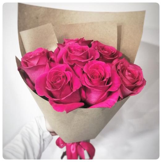Bouquet of 7 fragrant roses