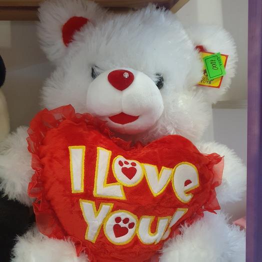 Плюшевый медвежонок порадует ваших любимых😊