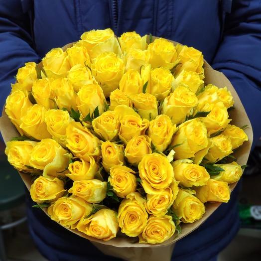 Розы Кения 50 см
