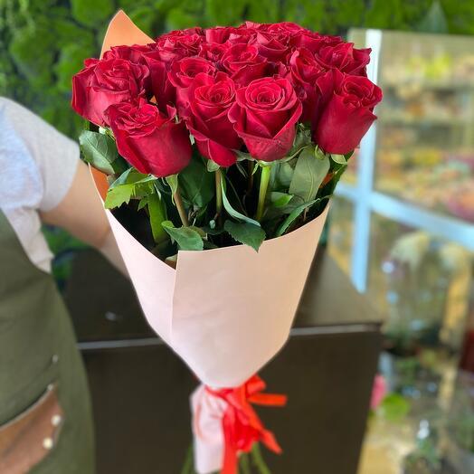 Эквадорская Роза 15  Шт