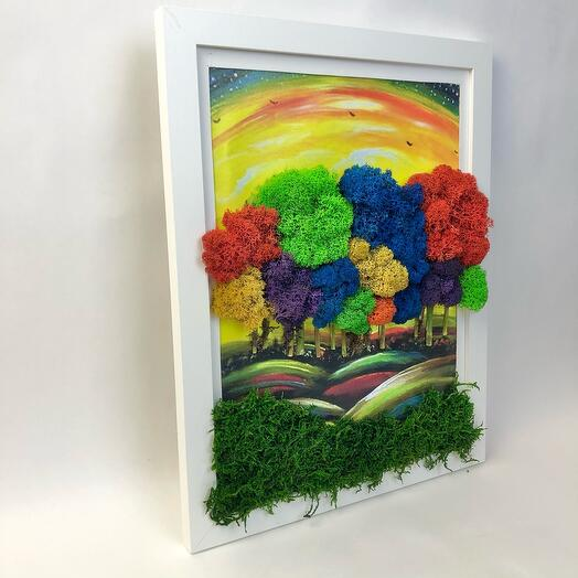 Картина Волшебный лес