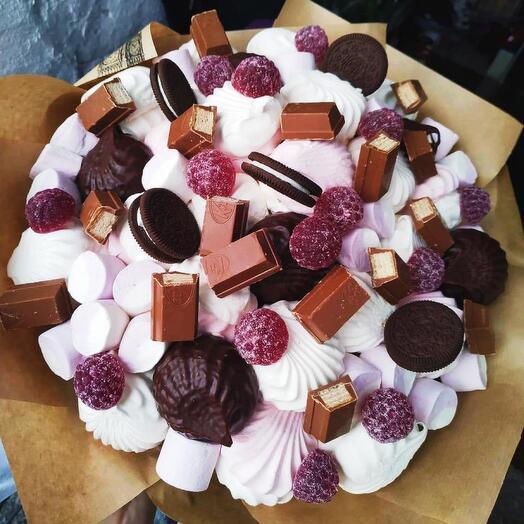 Букет из сладостей «Бонжур»