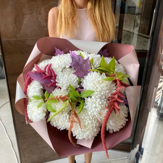 ✅ Амарант с хризантемой