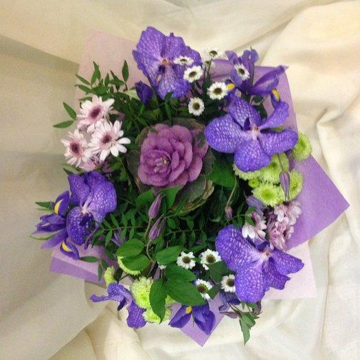 Темная ночь: букеты цветов на заказ Flowwow