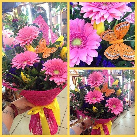 Первое впечатление: букеты цветов на заказ Flowwow