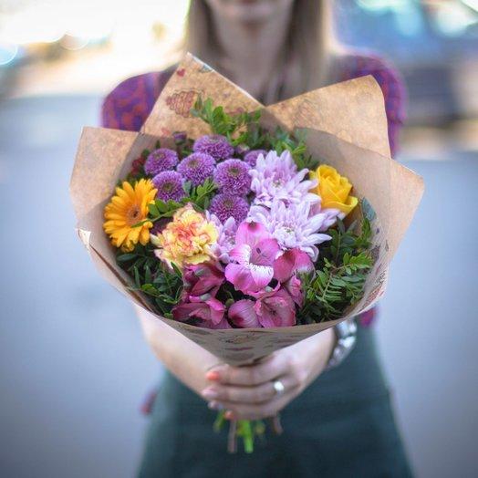 Букет Летние чувства: букеты цветов на заказ Flowwow