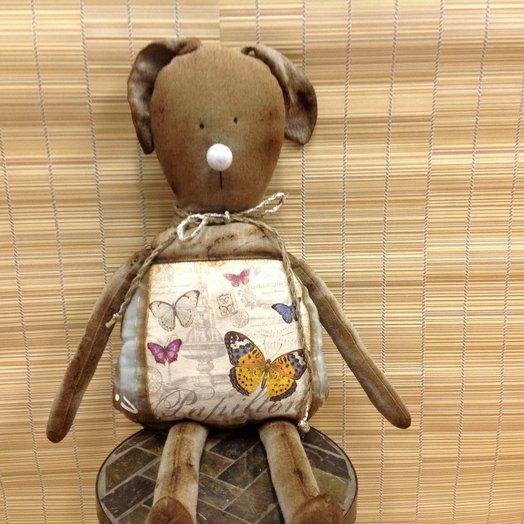 Кролик Федя винтажный: букеты цветов на заказ Flowwow